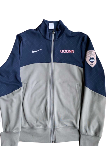 Ryan Boatright UCONN Team Issued Full-Zip Warm-Up Jacket (Size M)