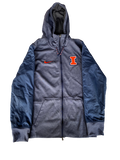 Kendrick Foster Illinois Nike Zip-Up Jacket (Size M)