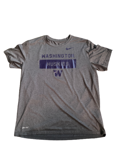 Taylor Rapp Washington Team Issued Workout Shirt with Number on Back (Size XL)