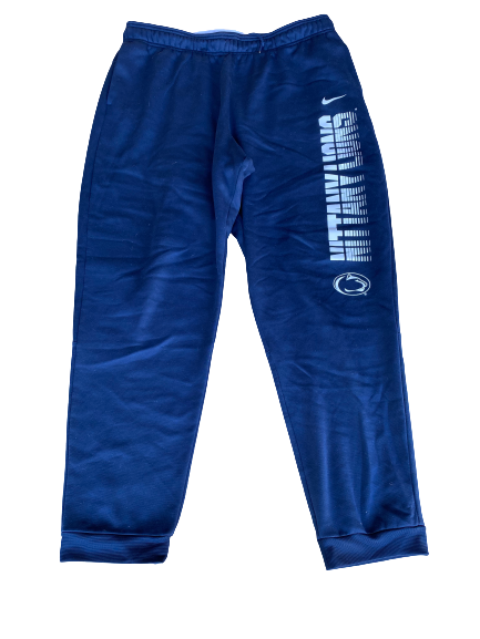 Jake Zembiec Penn State Football Team Issued Sweatpants (Size XL)