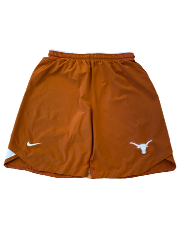 Tim Yoder Texas Football Team Issued Workout Shorts (Size L)