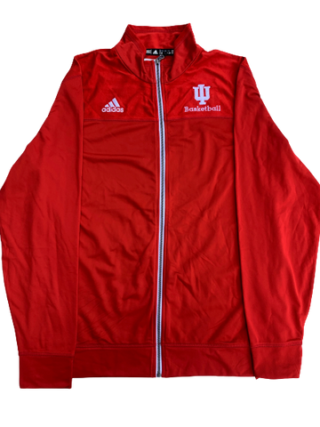 James Fraschilla Indiana Basketball Full Zip Jacket New With Tags (Size M)