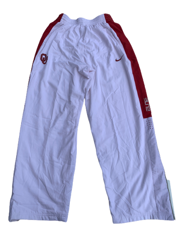 James Fraschilla Oklahoma Basketball Pregame Snap Button Pants (Size M)