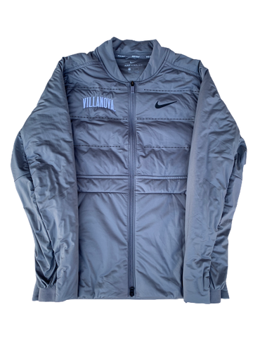 Reggie Redding Villanova Basketball NIKE AEROLOFT Bubble Jacket (Size M)