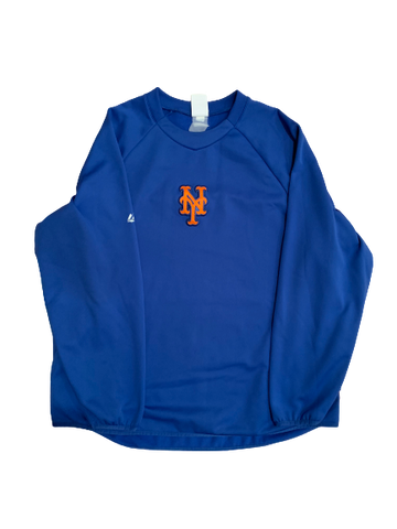 Chad Zurcher New York Mets Crew Neck (Size M/L)