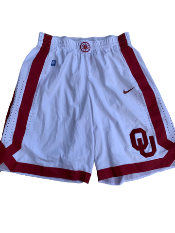James Fraschilla Oklahoma Basketball Game Shorts (Size M)
