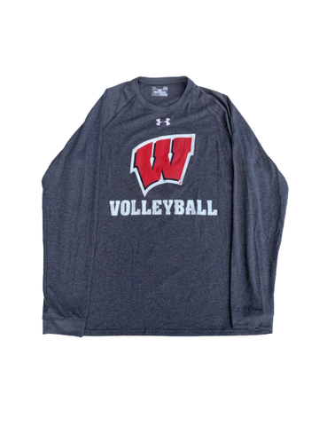 Tionna Williams Wisconsin Volleyball Long Sleeve with #11 (Size M)