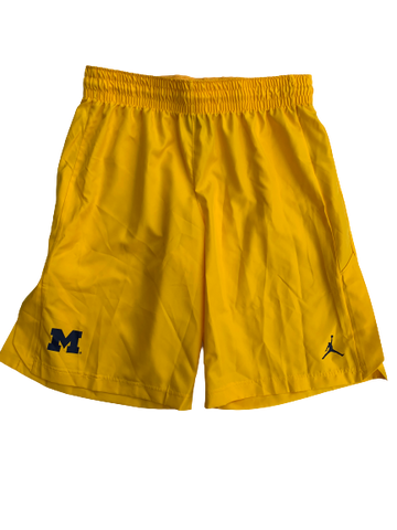 Kayla Robbins Michigan Basketball Shorts (Size M)