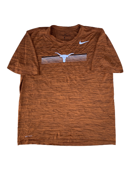 Joe Schwartz Texas Basketball T-Shirt (Size L)