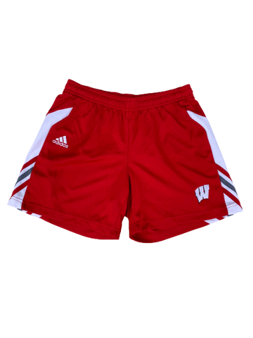 Tionna Williams Wisconsin Volleyball Shorts (Size Women S)