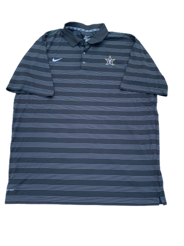 Jared Southers Vanderbilt Football NIKE Polo Shirt (Size 3XL)
