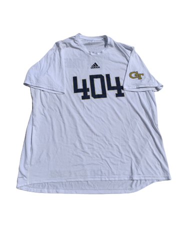 "Jared Southers Georgia Tech Football ""404"" T-Shirt (Size 3XL)"
