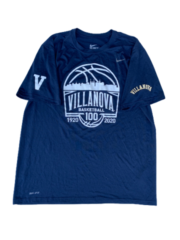Reggie Redding Villanova Basketball PE T-Shirt (Size XL)