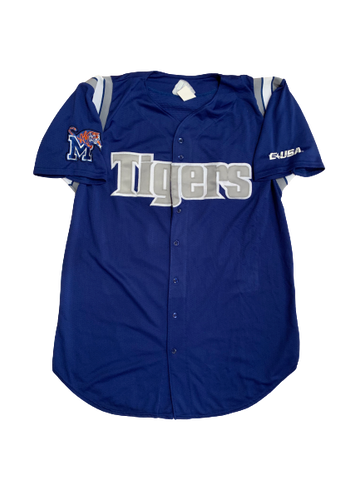 Chad Zurcher Game Worn Memphis Baseball Jersey (Size 44)