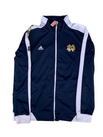 Scott Daly Notre Dame Football 2013 PE BCS Discover Bowl Jacket (Size XL)