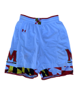 Anthony Cowan Maryland Basketball Game Worn Shorts (Stained)