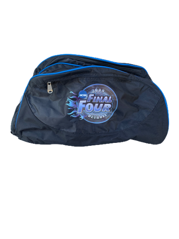 Reggie Redding Villanova 2009 Detroit Final Four Duffle Bag + Hat