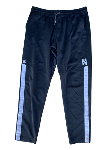 Gunnar Vogel Northwestern Football Travel Pants (Size XXLT)