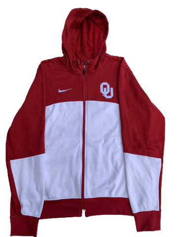 James Fraschilla Oklahoma Basketball Pre-Game Warmup Jacket (Size M)