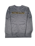 Scott Daly Notre Dame Football Crew Neck Sweatshirt with #61 (Size XL)