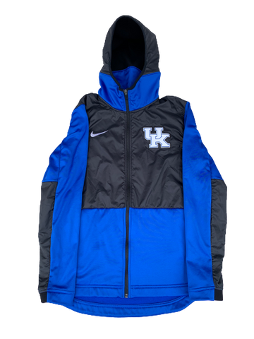 Kentucky Basketball NIKE Full Zip Jacket (Size M)