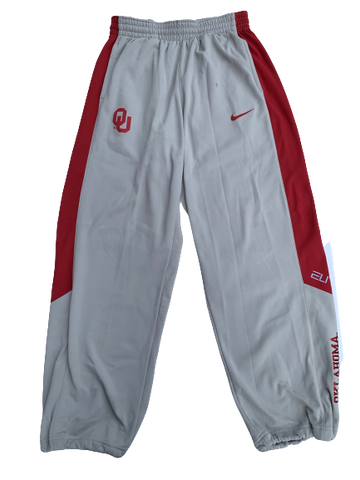 James Fraschilla Oklahoma Basketball Sweatpants (Size L)