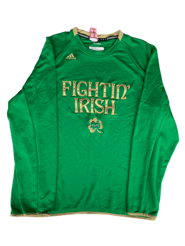 Scott Daly Notre Dame Football Long Sleeve Crew Neck (Size XL)