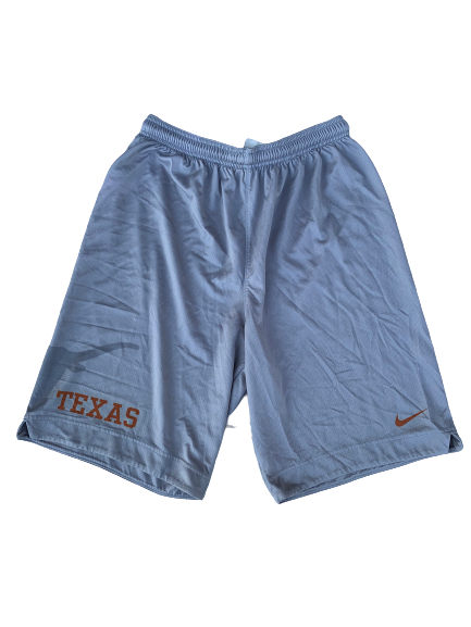 Joe Schwartz Texas Basketball Practice Shorts (Size L)