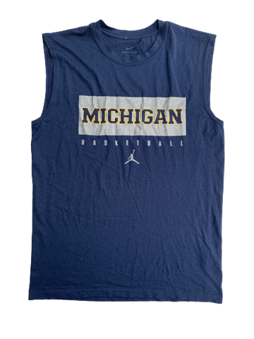 Kayla Robbins Michigan Basketball Tank (Size M)
