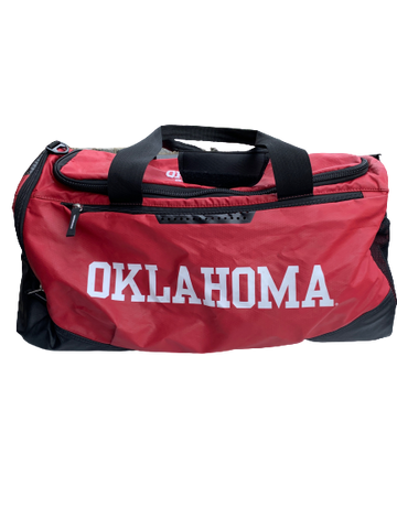 James Fraschilla Oklahoma Basketball Duffle Bag with #13