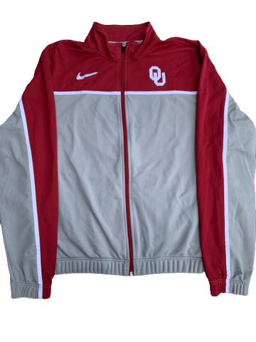 James Fraschilla Oklahoma Basketball Full Zip Jacket (Size L)