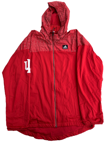 James Fraschilla Indiana Basketball Full Zip Jacket (Size M)
