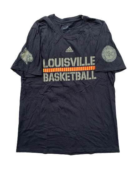 "Ryan McMahon  Louisville Basketball ""Celebrating Black Culture"" Shooting Shirt (Size L)"