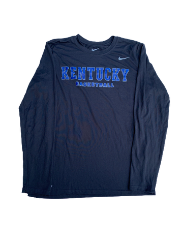 Kentucky Basketball NIKE Long Sleeve Shirt (Size M)