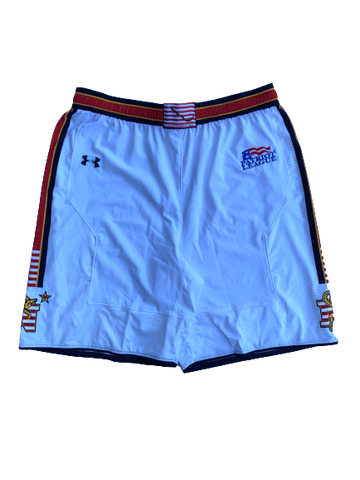 Navy Basketball Game Shorts (Size XL)