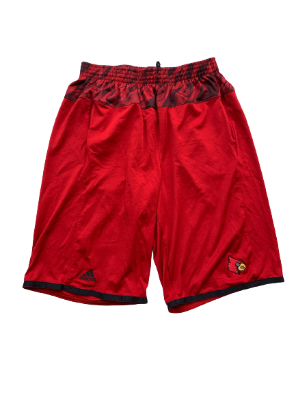 Ryan McMahon Louisville Basketball Workout Shorts (Size MT)