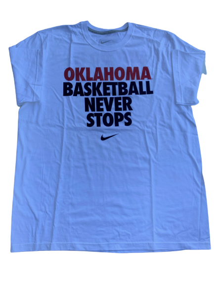 James Fraschilla Oklahoma Basketball T-Shirt (Size XL)