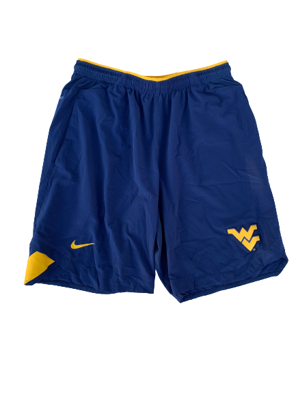 Chase Illig West Virginia Baseball Workout Shorts (Size L)