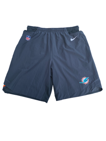 Miami Dolphins Workout Shorts with Player Tag (Size M)