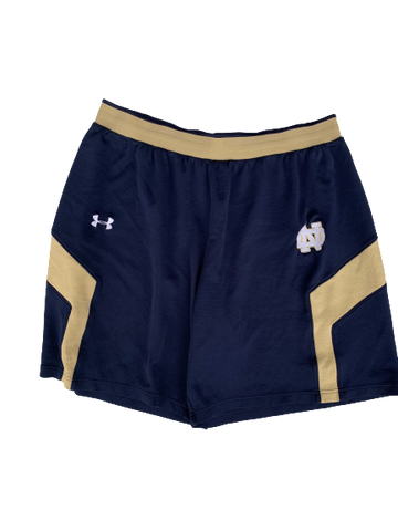 Scott Daly Notre Dame Football Workout Shorts (Size XL)