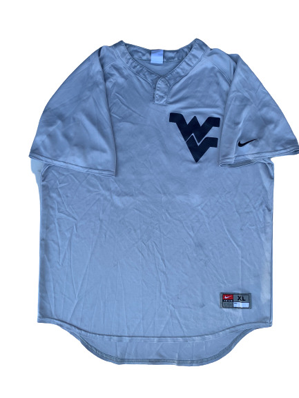 Chase Illig West Virginia Baseball Practice Jersey (Size XL)