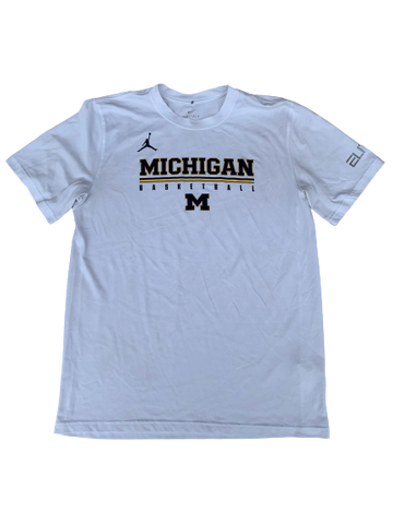 Kayla Robins Michigan Basketball T-Shirt (Size M)