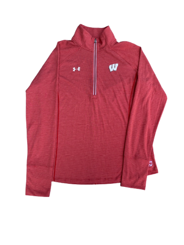 Tionna Williams Wisconsin 1/4 Zip (Size Women L)