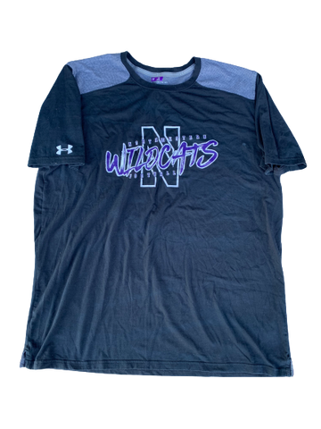 Gunnar Vogel Northwestern Football T-Shirt (Size XXL)