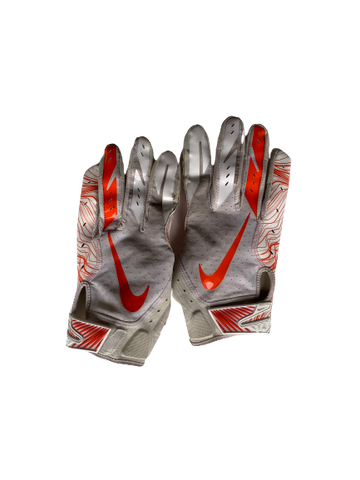Ervin Phillips Syracuse Football Worn Gloves (Size XL)