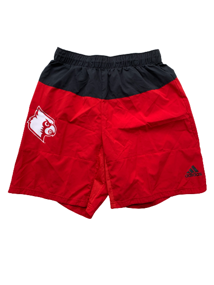 Ryan McMahon Louisville Basketball Workout Shorts (Size L)