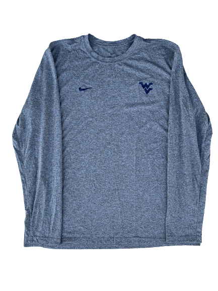 Chase Illig West Virginia Baseball Player Exclusive Long Sleeve Shirt (Size XL)