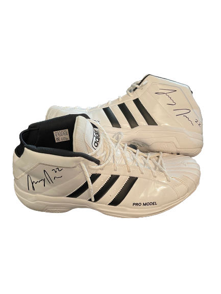 Larry Nance Jr. SIGNED Practice Worn Shoes (Size 16) *Benefiting the Crohn's and Colitis Foundation*