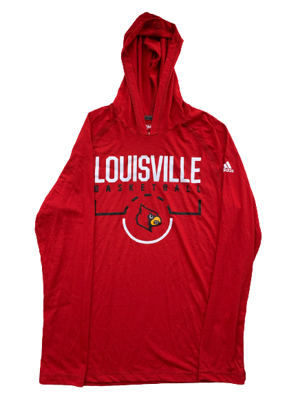 Ryan McMahon Louisville Basketball Workout Hoodie (Size L)