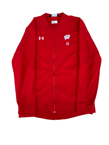Tionna Williams Wisconsin Full Zip Jacket (Size M)